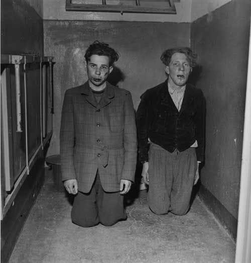 Buchenwald guards after liberation