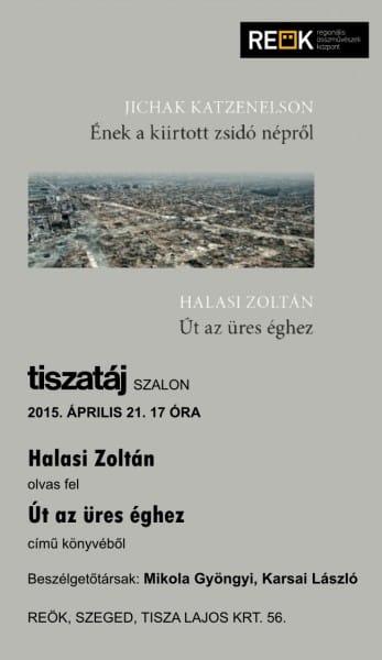 Tiszatáj Szalon - Halasi
