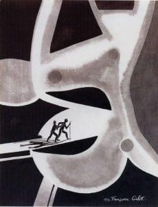 Ősbolyongás 1997 - 65x50cm - vegyes technika, papír