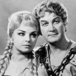 A nürnbergi mesterdalnokok – Házy Erzsébet (Éva) és Simándy József (Walther)