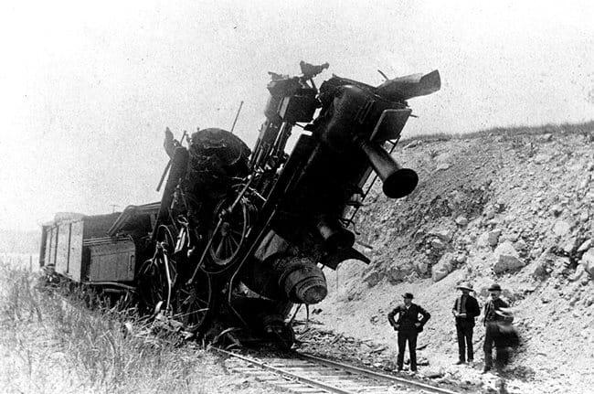A vonat mint gyorsulás szimbóluma