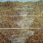 Marie Blabolilová Krajina s mosty 1988