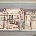 Barcsay Jenő: Szentendrei táj II., 1960-as évek első fele