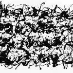 Korniss Dezső: Fekete kalligráfia, 1959 körül