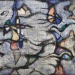 Szóbel Géza Abstract composition 1960