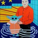 Orbán Viktor megvédi a koronavírustól Baby Yodát