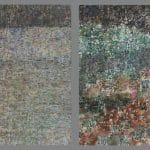 Bálint Ádám: Híd a kertben papír akvarell 2×90×90cm.jpg